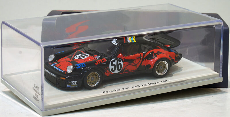 SPARK 1 43 PORSCHE 934  56 Le Mans 1977 S3403