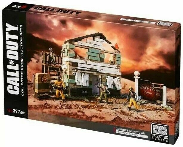 Mega Bloks Call Of Duty Collector Construction Sets Zombies Nuketown 397 PCS