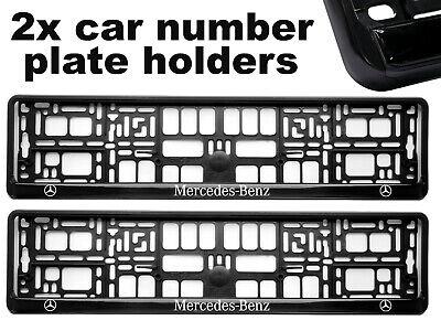 2 X Embutidores en autos de la placa de soporte envolvente Marcos mejor ajuste para Mercedes Brabus