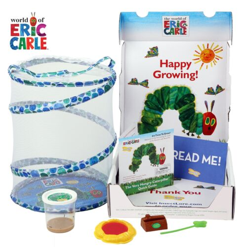 Insect Lore Very Hungry Caterpillar Growing Kit, Blue