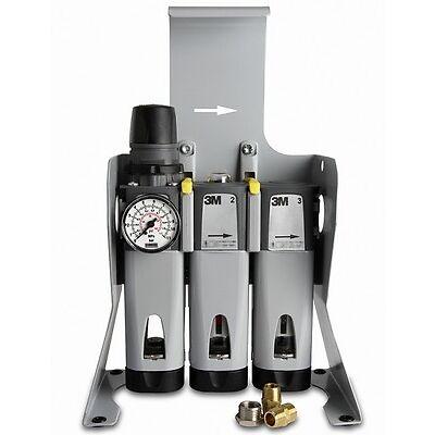 3M Flowstream Aircare ACU Druckluft-Filtereinheit freistehend ,ACU-02 (Neu -04)