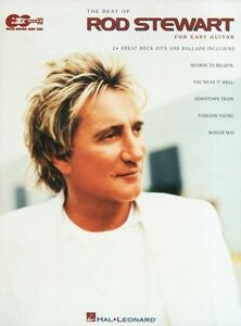 Rod Stewart The Best Of Learn To Play Rock Pop Guitar Tab Music Book