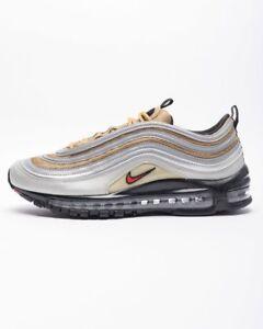 8fe02e985b Nike Air Max 97 SSL Silver Gold BV0306-001 Airmax Mens Running Shoes ...