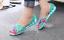 Women-039-s-Summer-Open-Toe-Jelly-Flat-Sandals-Beach-Rainbow-Color-2018-Shoes-Sandal thumbnail 6