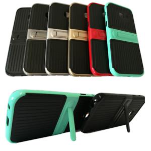 Handy-Tasche-mit-Standfuss-Etui-Cover-Huelle-Back-Case-Apple-Samsung-Xiaomi