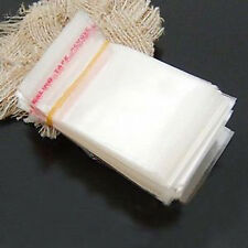 200pcs Wholesale Lots Self Adhesive Seal Plastic Bags 3x7cm M1207 Ql