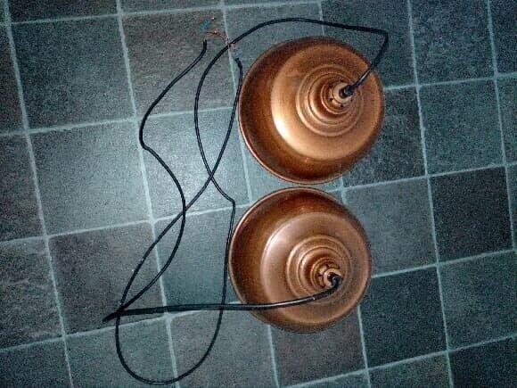 Anden loftslampe, Messing lamper