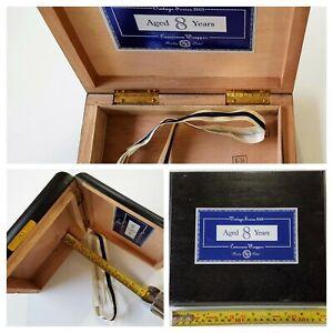 ROCKY-Patel-CAMERUN-TORO-VINTAGE-IN-LEGNO-VUOTA-Cigar-Box-USATO-DA-COLLEZIONE