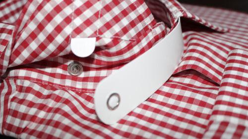 Men/'s Long Sleeve Clip in style Collar Clergy church Vicar Shirt Priest