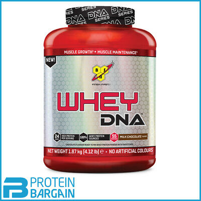 BSN DNA Whey Protein 34g 1.87kg 100% Muscle Building Protein Shake BEST PRICE