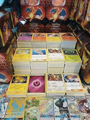 Holos Joblot Inc 11 Rares 100/% Genuine Product 100x Pokemon Cards Bundle