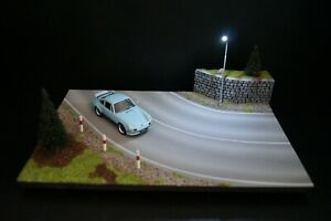 Diorama Vehicles 1 43 Road Curve With