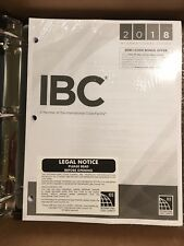 2018 International Building Code by International Code Council (2017, Loose Leaf)