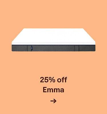 25% off Emma