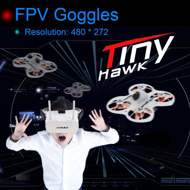 Emax Tinyhawk 600tvl Camera RC Racing Drone&fpv Goggles Transmitter RTF P8s9