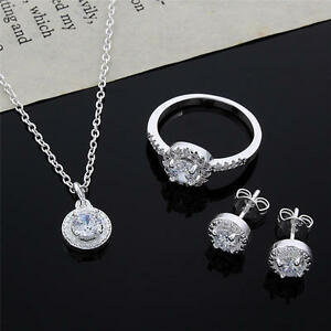 fashion-wedding-925-sterling-silver-crystal-necklace-earring-ring-jewelry-set