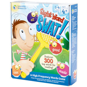 Learning Resources Sight Word Swat Game NEW