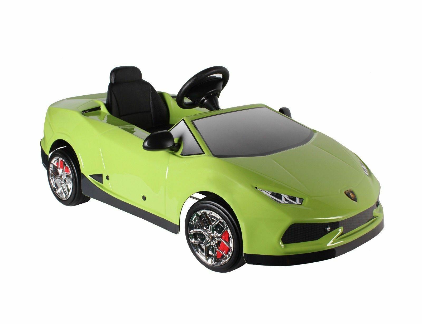 Licensed Lamborghini Huracan Kids Ride on Powered Powered Powered Car-Green, Made In  216b0d