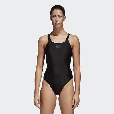 2019 Nuovo Stile Adidas Infinitex Essenza Core Solid Donna's Nuoto Suit Bp5384-mostra Il Titolo Originale In Vendita