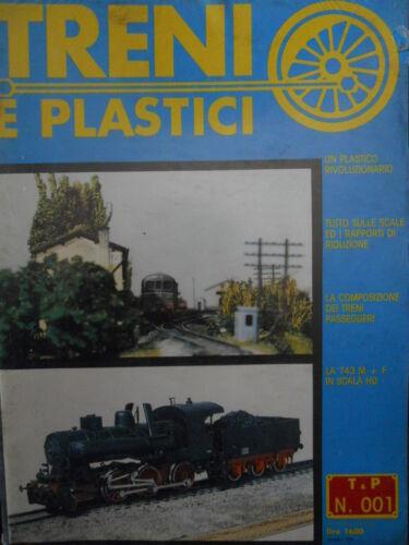 Treni e Plastici n°1 1979 Locomotiva 743 M in scala H0 Un Plastico rivoluziona