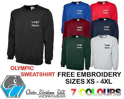 PERSONALISED EMBROIDERED BUSINESS WORK WEAR PACKAGE T SHIRT POLO SHIRT HOODY