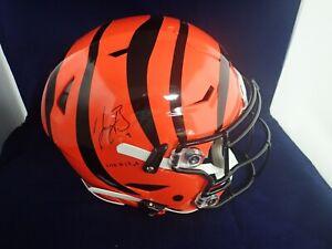Joe-Burrow-Signed-Bengals-Speed-Flex-Authentic-Helmet-W-2020-1-Pick-A826076