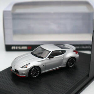 1-43-Kyosho-NISSAN-FAIRLADY-Z-NISMO-Z34-Diecast-Models-Toy-Car-Silver-Collection
