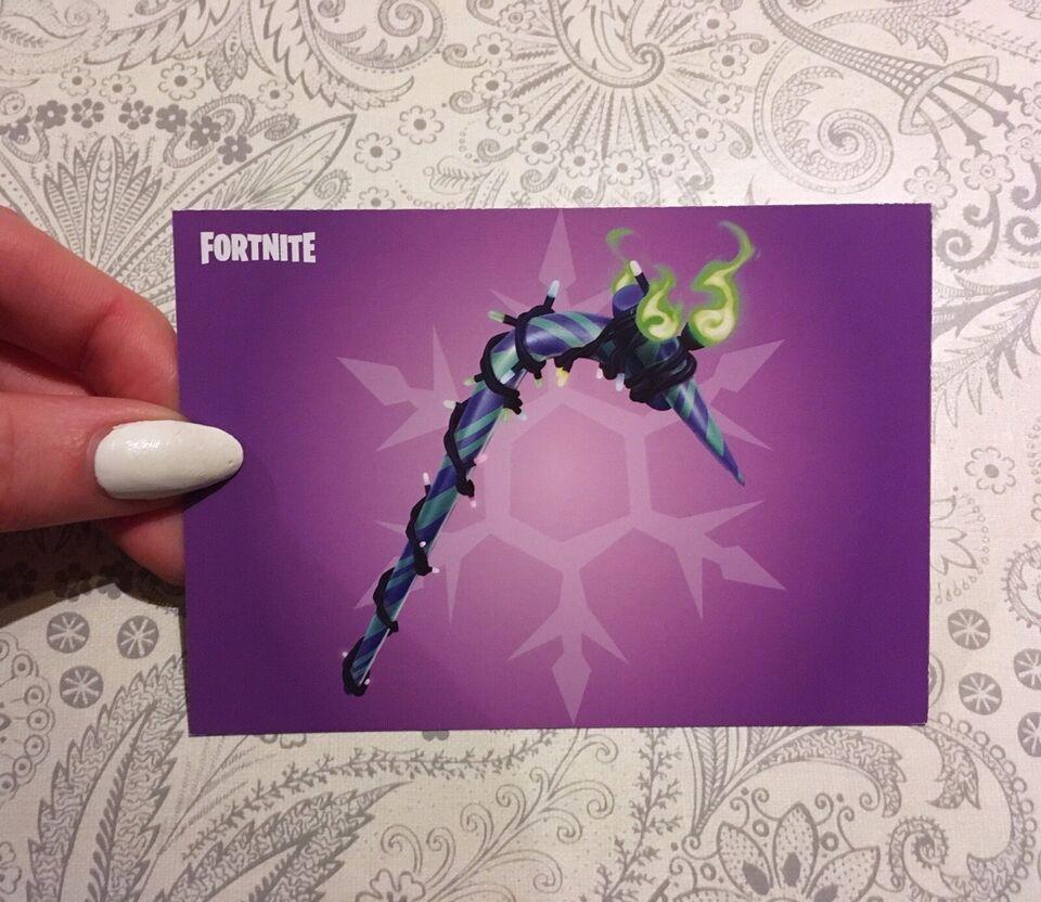 Fortnite Minty Pickaxe kode, andet spil
