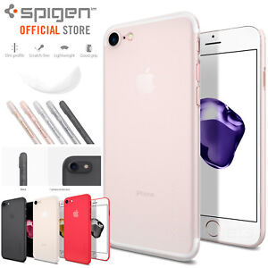 size 40 abd25 bed2e Details about iPhone 7 / 7 Plus Case, Genuine SPIGEN Air Skin ULTRA-THIN  Soft Cover for Apple