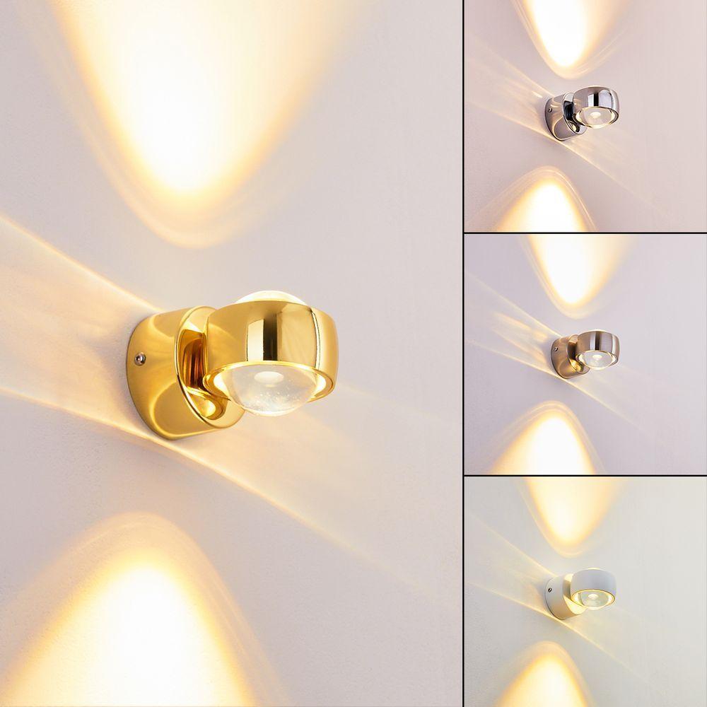 LED Design Wandleuchte Rio Strahler Wandspots Flur Treppen Haus Up & Down Lampe