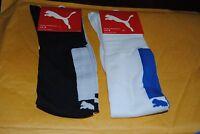 Puma Football /soccer Socks Size 3 (7-9 ) Medium Rn62200 2 Colors (2 Socks)