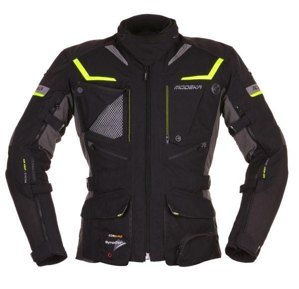 Modeka PAN americana hombre chaqueta de Moto Impermeable Touring Sas-tec Ruta
