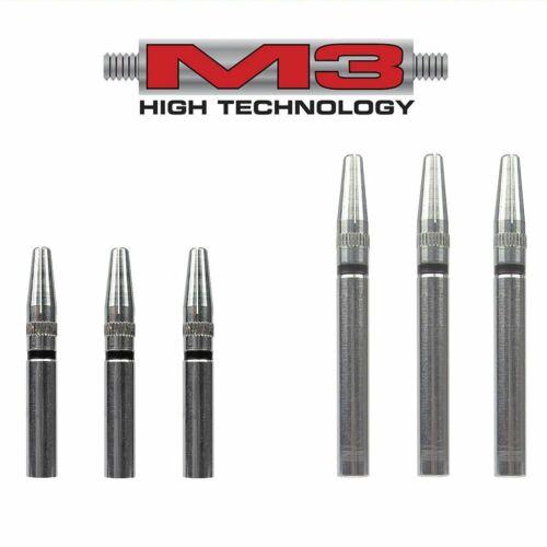 M3 Dart Shafts Shaft Schaft Schäfte Dartschäfte Innengewinde mit Top-Spin Alu