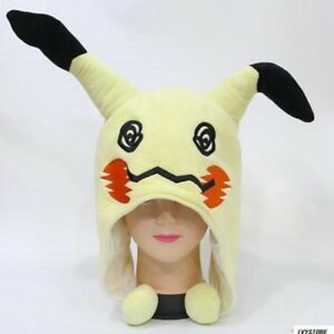 d468f26c3e3 Image is loading Anime-Pokemon-Mimikyu-Plush-Hat-Cosplay-Costume-Warm-