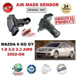 FOR MAZDA 6 GG GY 1.8 2.0 2.3 AWD 2002-ON AIR MASS SENSOR 5 PIN ...