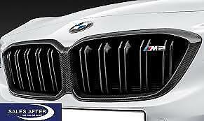 BMW Genuine M2 Comp Kidney Grilles Carbon M Performance F87 LCI 51712453944