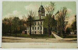 Illinois-Court-House-Kankakee-Postcard-I5