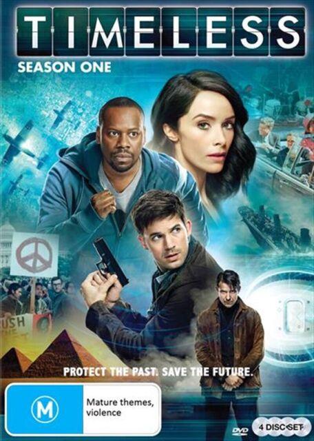 TIMELESS : Season 1 : NEW DVD
