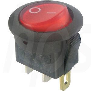 Wippschalter-schwarz-rund-EIN-AUS-12V-DC-max-16-A-14V-DC-R-Last-Schalter-KFZ