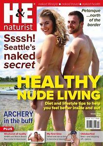 Naturist men and women