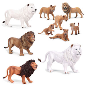 African-White-Lion-Figure-Wild-Animal-Panthera-leo-Model-Collector-Toy-Kids-Gift