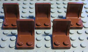Lego-Eisenbahn-PKW-LKW-Sitz-new-Braun-5-Stueck-221