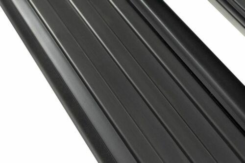 Premium Black Aluminium entrera planches Seuil Avec ABE Pour Toyota Hilux 2005-15