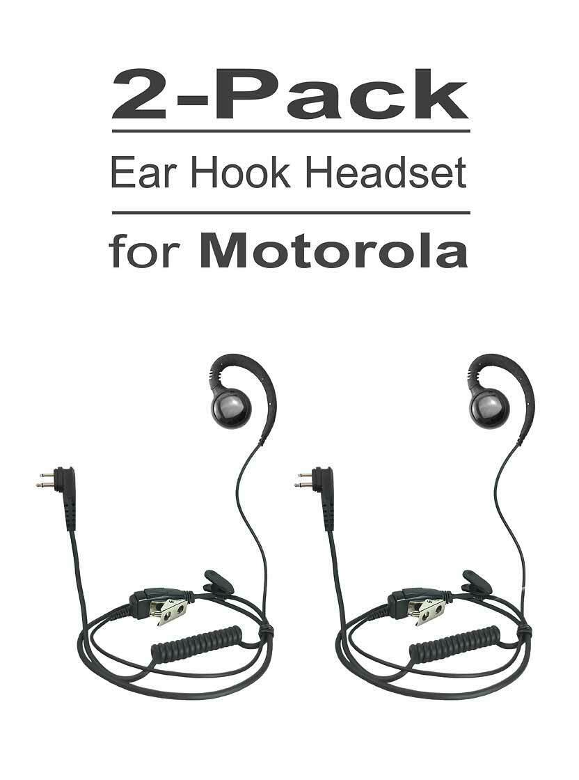 Swivel Earhook for Motorola CP200 PR400 CLS1110 CLS1410 BPR40 CP185 DTR650 BC130
