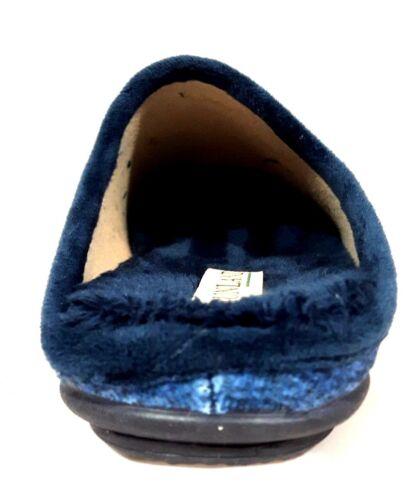 ciabatte pantofole Grunland LADI CI1059 Blu topolino velluto invernale donna