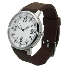 The Backwards Watch: reverse time movement, unique display, steel novelty gift