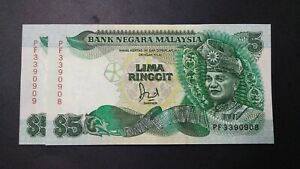 RM5-Jaafar-6th-Series-2-Pieces-Running-Prefix-PF-UNC