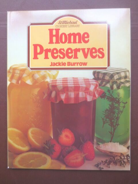 Vintage Cook Book HOME PRESERVES Jam Pickle Recipes RETRO St Michael 1980s