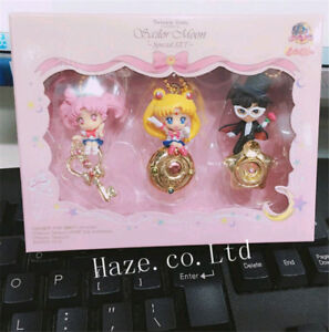 3pcs-Set-Sailor-Moon-Twinkle-Dolly-PVC-Figure-Model-Keychain-Pendant