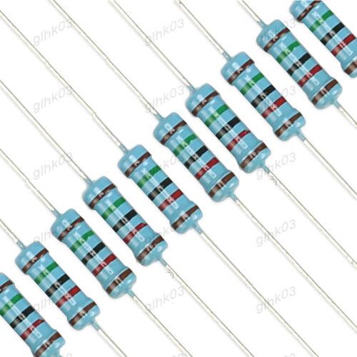 Metallschichtwiderstände 1W 1/% 0.22 10K 1MΩ 1000K 1K Ohm Full Range of Values